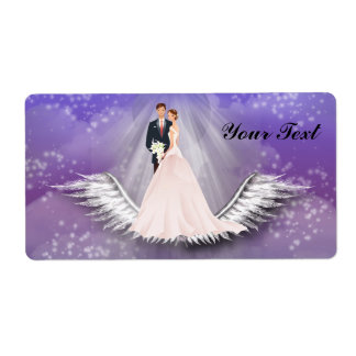 Wedding  Label Shipping Label