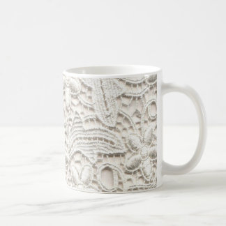 Wedding Lace Coffee Mug