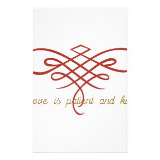 Wedding Love Quilt Stationery Design