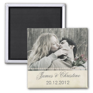 Wedding magnet with your photo