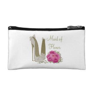 Wedding Maid of Honor Cosmetic Bag Gift