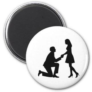 Wedding Marriage Proposal Fridge Magnet