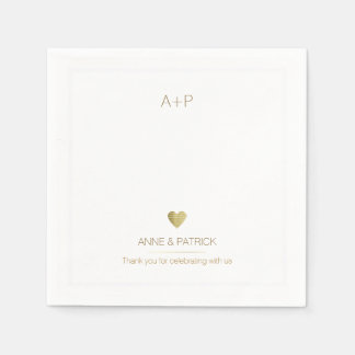 wedding minimalist reception party disposable serviette