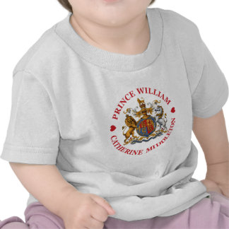 Wedding of Prince William and Catherine Middleton Tee Shirt