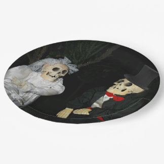 Wedding of the Dead 9 Inch Paper Plate