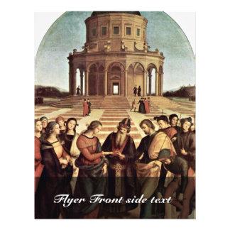 Wedding Of The Virgin By Raffael (Best Quality) Flyer