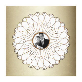 Wedding Or Anniversary Custom Photo Personalised Canvas Print