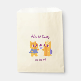 Wedding or Anniversary Party Kawaii Dog Puppy Love Favour Bags