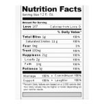 Wedding or Anniversary Sweet Funny Nutrition Label Flyer Design