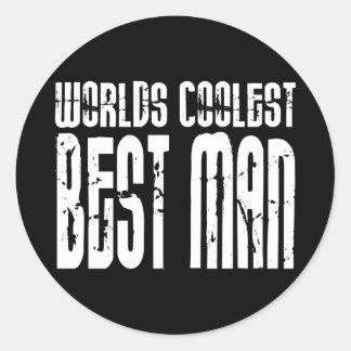 Wedding Parties & Favors : Worlds Coolest Best Man Stickers