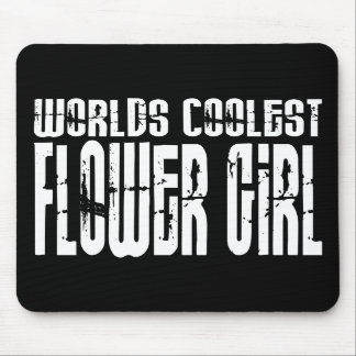 Wedding Party Favors : Worlds Coolest Flower Girl Mouse Pads