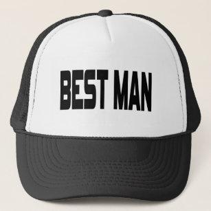 052f731f Best Man Baseball & Trucker Hats | Zazzle.co.uk