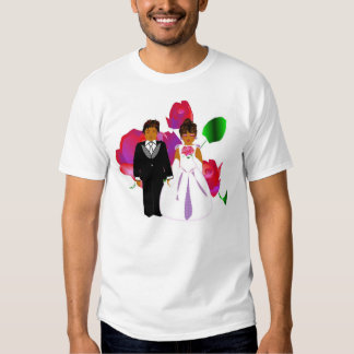 "Wedding Party II ""Flower Girl"" T-Shirt-Customized Tee Shirts"