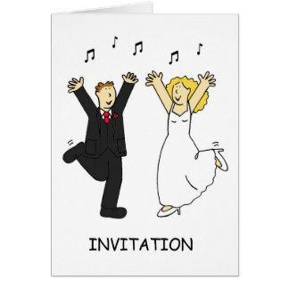 Wedding party Invitaion. Greeting Card