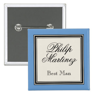 Browse the Best Man Buttons Collection and personalise by colour, design or style.