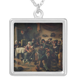 Wedding Party Silver Plated Necklace