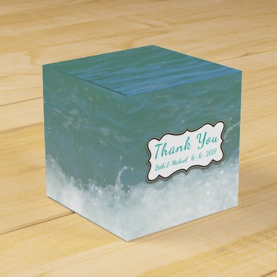 Wedding/Party Tropical Beach Favour Box