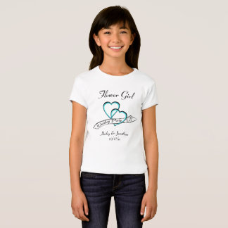 Wedding Party VIP Flower Girl T-Shirt