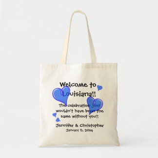 Wedding Party Welcome Bags Add State Names Date