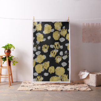 Wedding Photo Booth Backdrop Gold Silver Paint Fabric