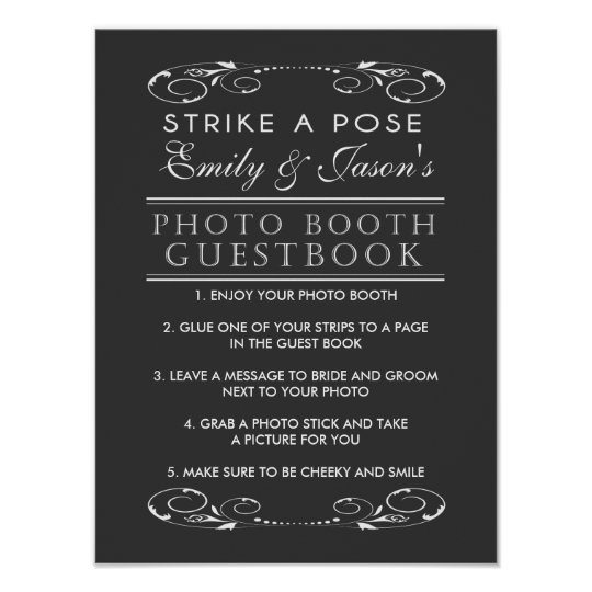 Wedding Photo Books Uk: Wedding Photo Booth Guest Book Sign