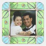 Wedding Photo Frame Thank You Sticker