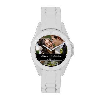Wedding Photo Keepsake Wrist Watches