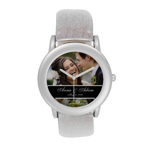 Wedding Photo Keepsake Wristwatches