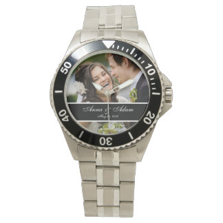 Wedding Photo Keepsake Watches