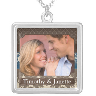 Wedding Photo Necklace