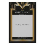 Wedding Photo Prop | Gatsby inspired party Poster