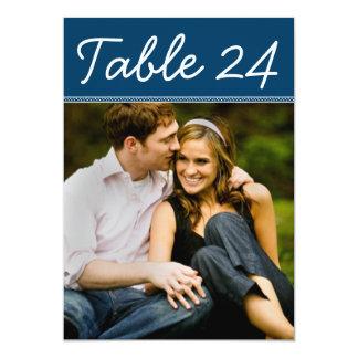 Wedding Photo Table Number Cards | Custom Template 13 Cm X 18 Cm Invitation Card