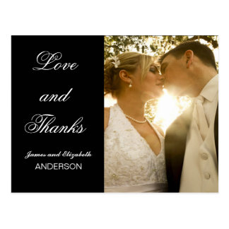 Wedding Photo Thank You Note | Post Card