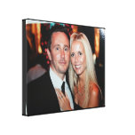 Wedding Photo Wrapped Canvas Create your own Stretched Canvas Print