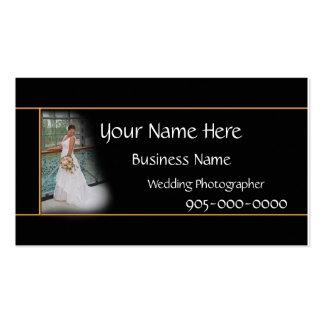 Wedding Photographer Business Elegant card - color Pack Of Standard Business Cards