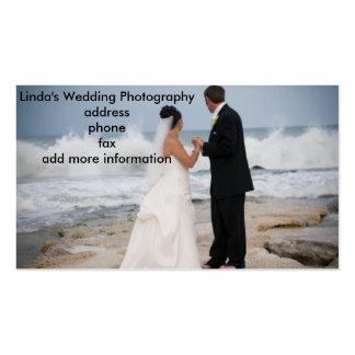 WEDDING PHOTOGRAPHER'S BUSINESS CARD