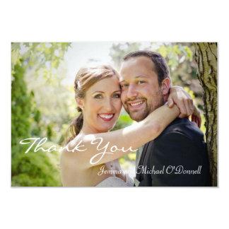 Wedding Photos Thank You 3.5 x 5 Card 9 Cm X 13 Cm Invitation Card