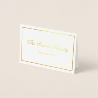 Wedding Place Card Border