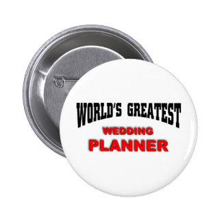Wedding Planner 6 Cm Round Badge
