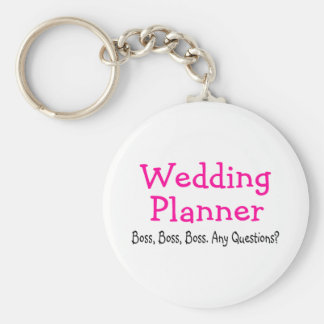 Wedding Planner Boss Key Chains