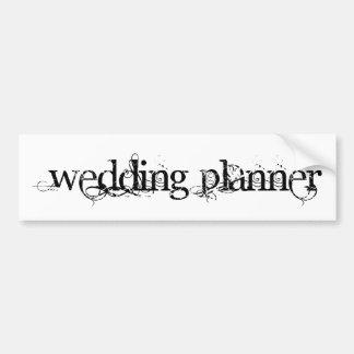Wedding Planner Bumper Stickers