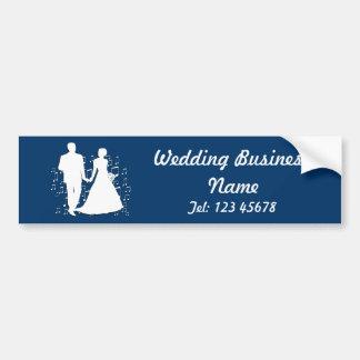 Wedding Planner Business Theme Collection Bumper Sticker