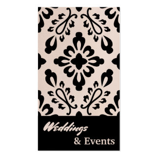 Wedding Planner. Catering. Wedding Supplies Pack Of Standard Business Cards