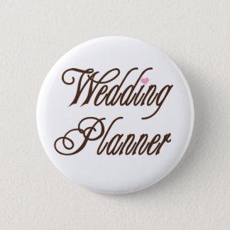 Wedding Planner Classy Browns 6 Cm Round Badge