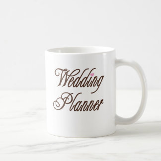 Wedding Planner Classy Browns Basic White Mug