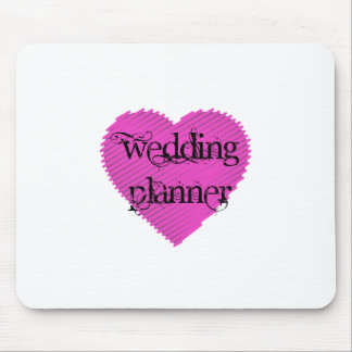 Wedding Planner Mouse Pad