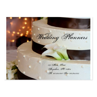 Wedding Planner Pack Of Chubby Business Cards