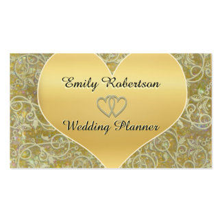 Wedding Planner, Photographer, etc. Pack Of Standard Business Cards