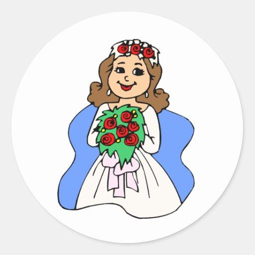 Wedding Planning 20 Round Stickers