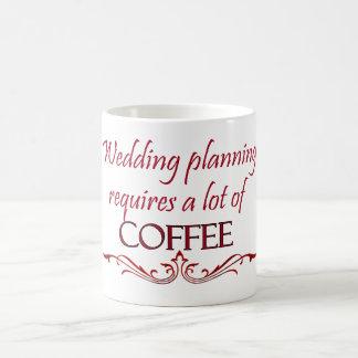 Wedding planning coffee mug. coffee mug